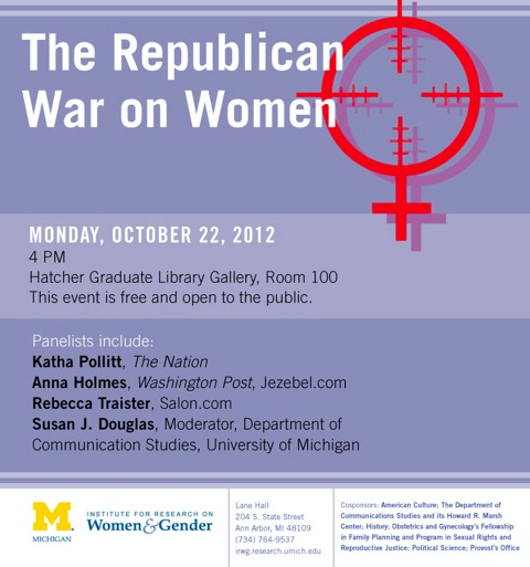 "Public University Sponsors ""The Republican War on Women"" Event"