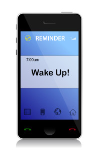 Wake up cell message